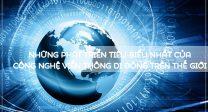 Những phát triển tiêu biểu nhất của công nghệ viễn thông di động trên thế giới