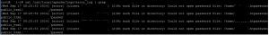 Lỗi với file .htaccess