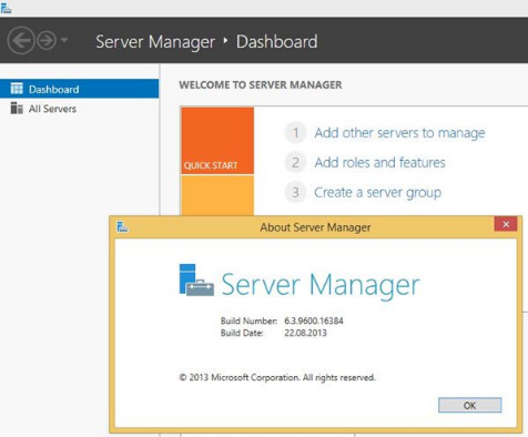 cai dat server manager
