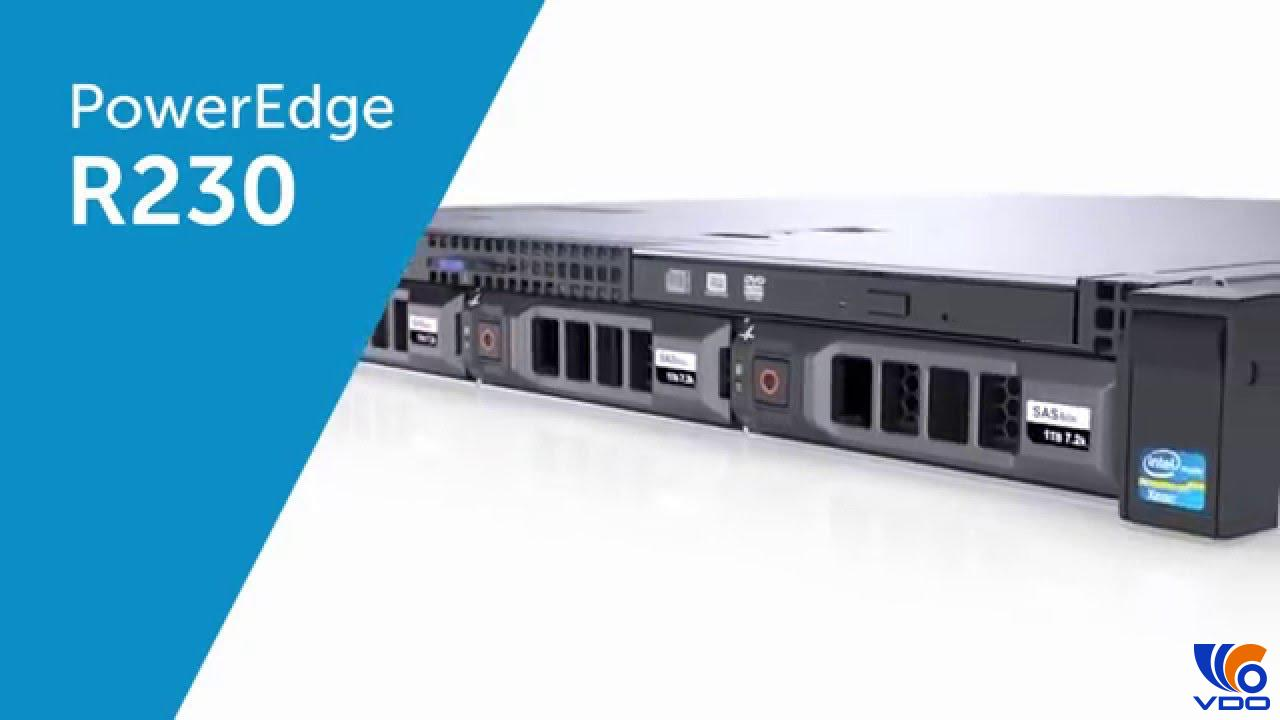Máy chủ Dell PowerEdge R230