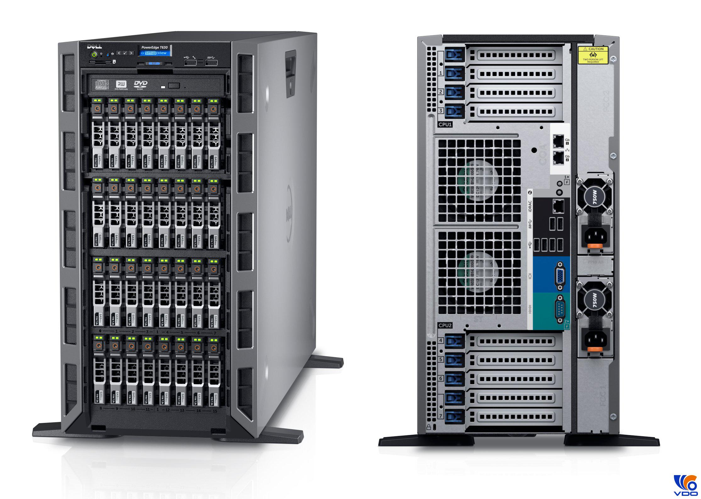 Máy chủ Dell EMC Poweredge T30